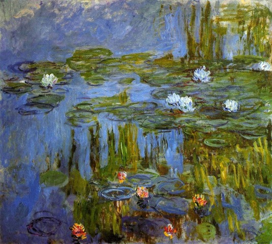 1917+Water+Lilies+oil+on+canvas+Portland+Art+Museum+OR